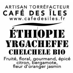 Éthiopie Yrgacheffe Chelchele - 250 g - 30€/kg