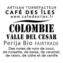 Colombie Valle del Cesar Bio Fairtrade - 250 g - 24€/kg