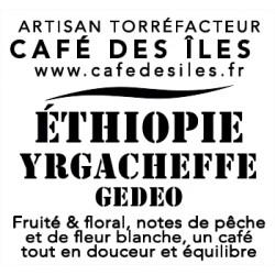 Éthiopie Ygacheffe Gédéo - 250 g - 27,20€/kg