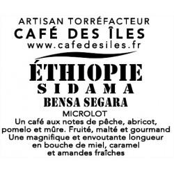 Éthiopie Sidama Bensa Segara - 250 g - 30,00€/kg