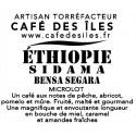 Éthiopie Sidama Bensa Segara - 250 g - 32,00€/kg