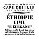 """Éthiopie Limu """"L'Élégant"""" - 250 g - 28€/kg"""