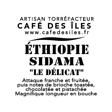 Éthiopie Sidama - 250 g - 30€/kg