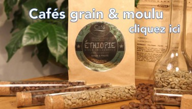 Les cafés en grain & moulus